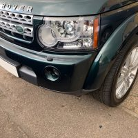 Land Rover bodywork repair
