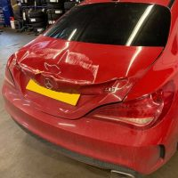 Mercedes bodywork repair
